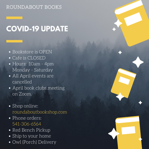 Roundabout Books updated hours and info.