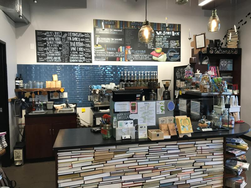 Independent Bookstore and cafe in Bend, Oregon.
