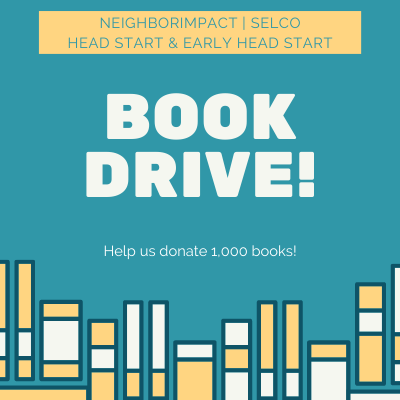 Roundabout Head Start Book Drive