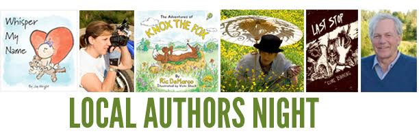 1st Local Authors Night Roundabout Books